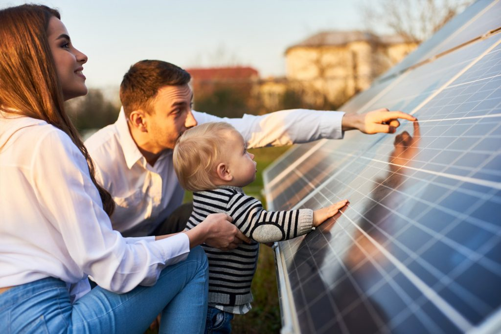 solar-city-fort-worth-family-viewing-solar-panel
